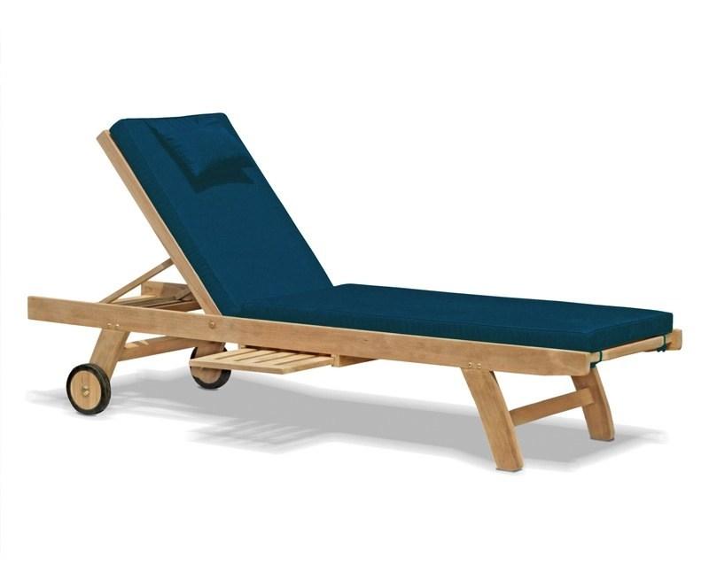 Outdoor Lounger Cushion, Garden Sun Lounger Cushion
