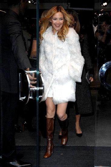 Kate Hudson in fur