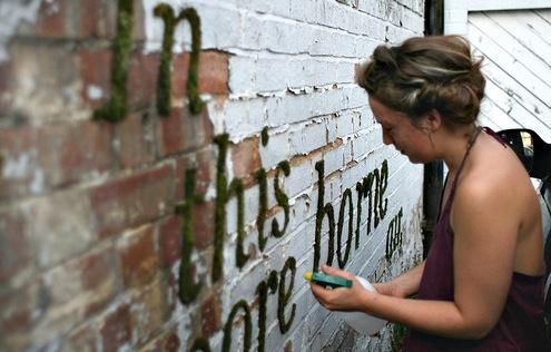 eco graffiti New Trend : The Eco Graffiti
