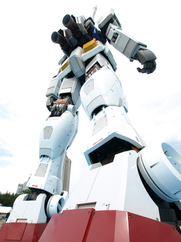 gundam08868 A Giant Robot in the Streets of Tokyo!