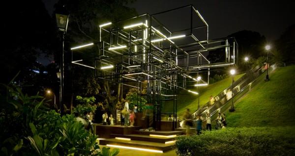 the light tree by farm 600x318 Lighting Sculpture