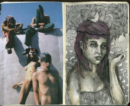 sketchbook collages 10 Creative Sketchbook Collages
