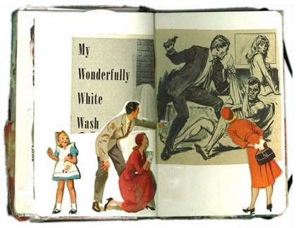 sketchbook collages 11 Creative Sketchbook Collages