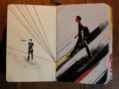 sketchbook collages 6 Creative Sketchbook Collages