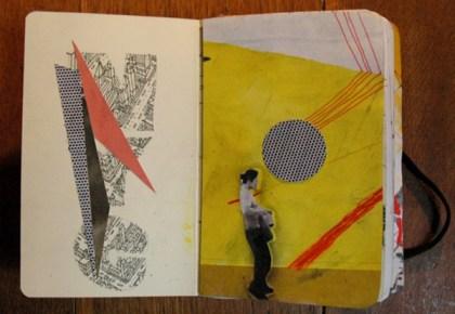 sketchbook collages 8 Creative Sketchbook Collages