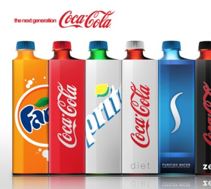 coke packaging concept by andrew kim 600x538 Next Coke Packaging Concept by Andrew Kim