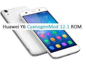 [CM121] Huawei Y6 CyanogenMod 121 Lollipop Custom ROM