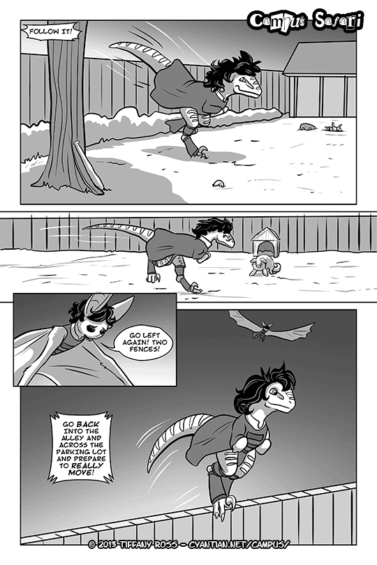 Campus Safari Chapter 3 Page 8