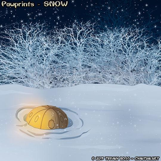 Pawprints Snow 01