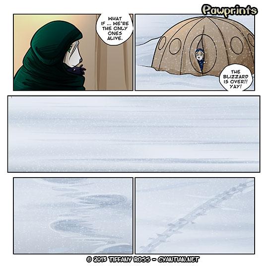 Pawprints Snow 04