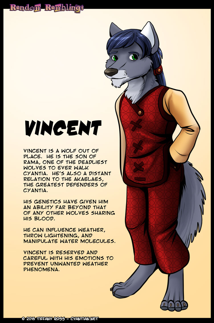 Random Ramblings Vincent