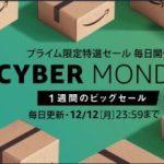 Amazon Cyber Monday セールでColemanのバックパック購入しました。