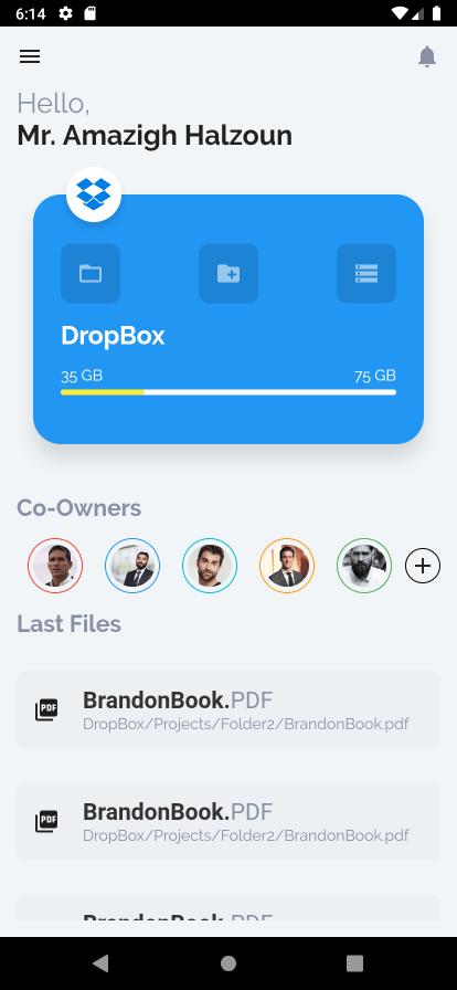 Flutter Tutorial: Cloud storage manager App UI - Cybdom