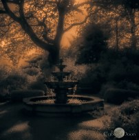 twilight fountain