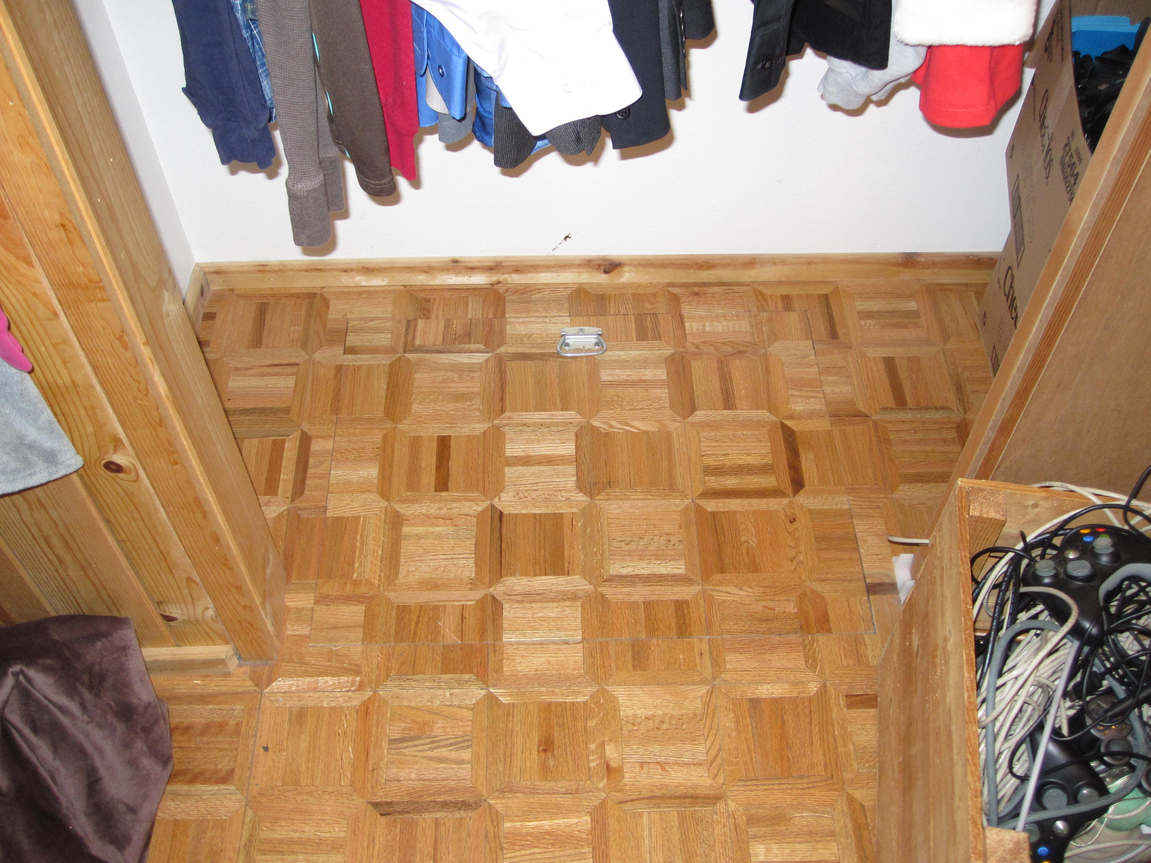 Husband And Wife Found A Secret Trap Door Inside Their