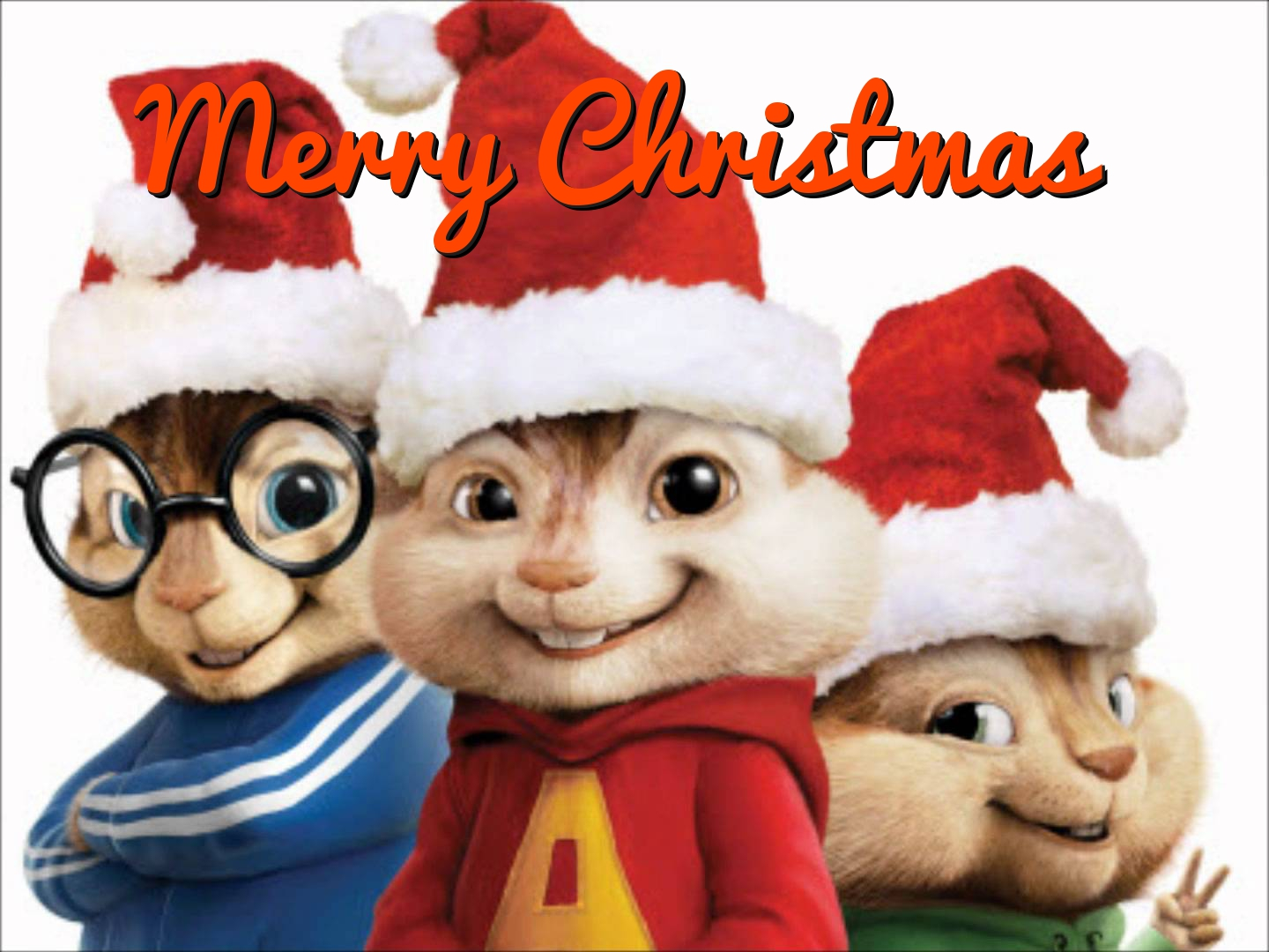 Free Alvin And The Chipmunks Christmas Card