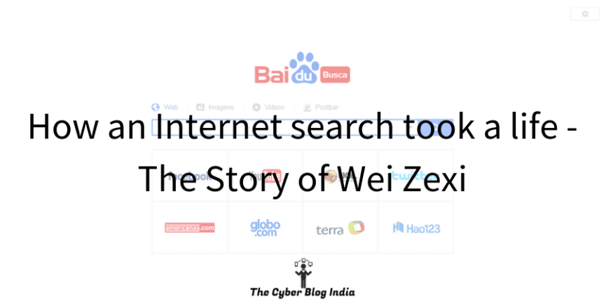 How an Internet search took a life - The Story of Wei Zexi.