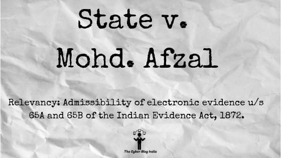 State v. Mohd. Afzal