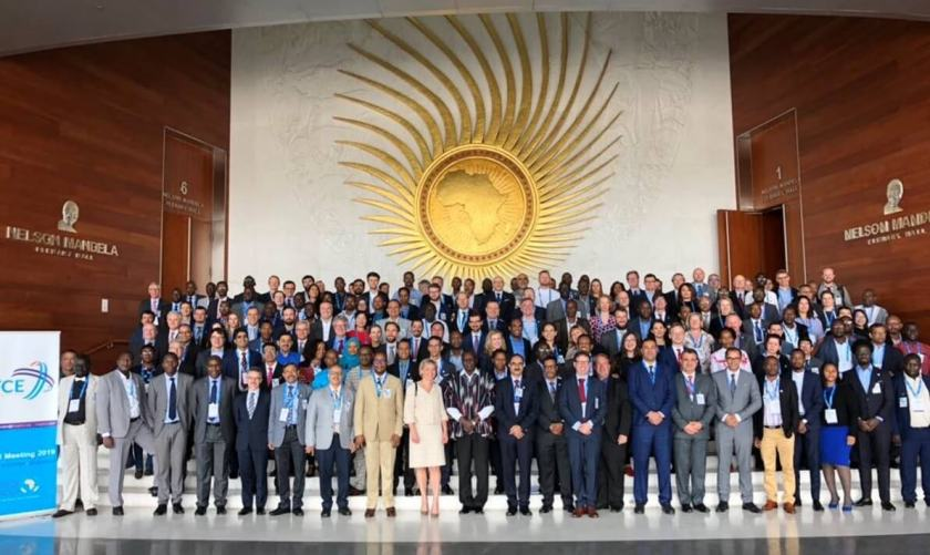 Delegates at the GFCE Annual Meeting 2019 at the African Union