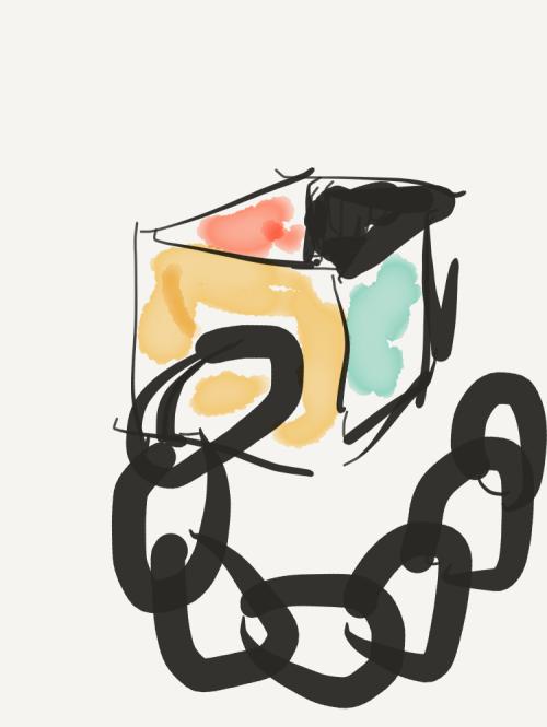 Block Chain Graphic