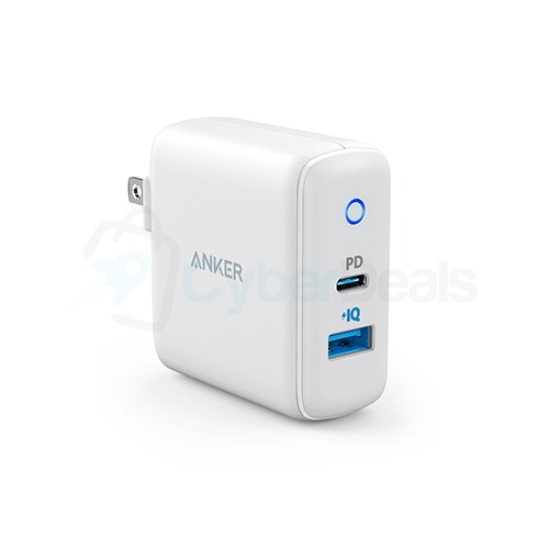 Anker PowerPort PD 2 Dual Port High Speed Wall Charger 1