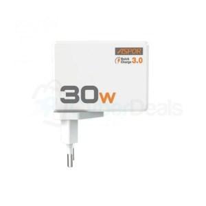 Aspor A858Q 30W USB 3.0 Fast Charger 1