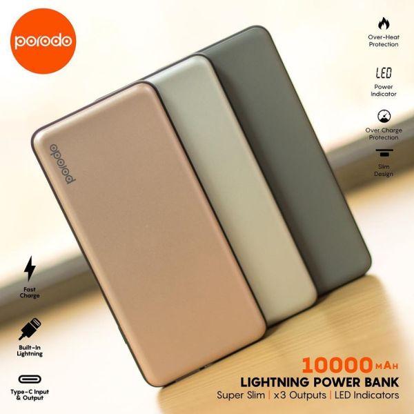 porodo lightning powerbank 10000mah DESCRIP 3