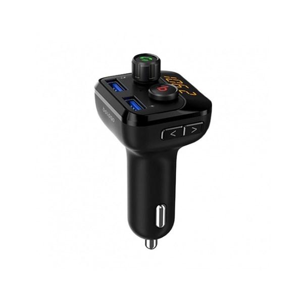 porodo wireless fm transmitter car charger 1