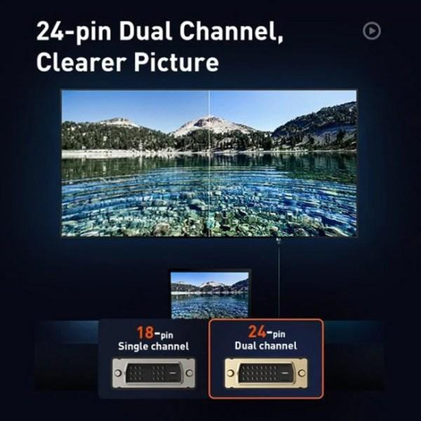 Baseus Enjoyment Series DVI Bidirectional Cable 5