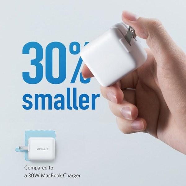 PowerPort III Mini 30W Power IQ 3.0 USB Type C Charger 2
