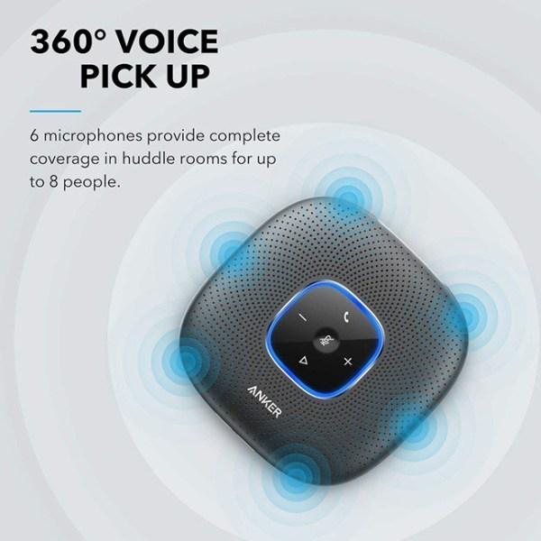 Anker PowerConf Bluetooth Speakerphone 1