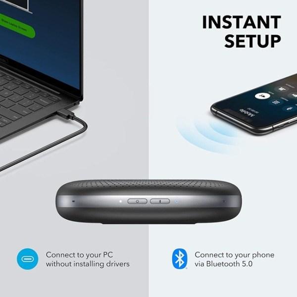 Anker PowerConf Bluetooth Speakerphone 4