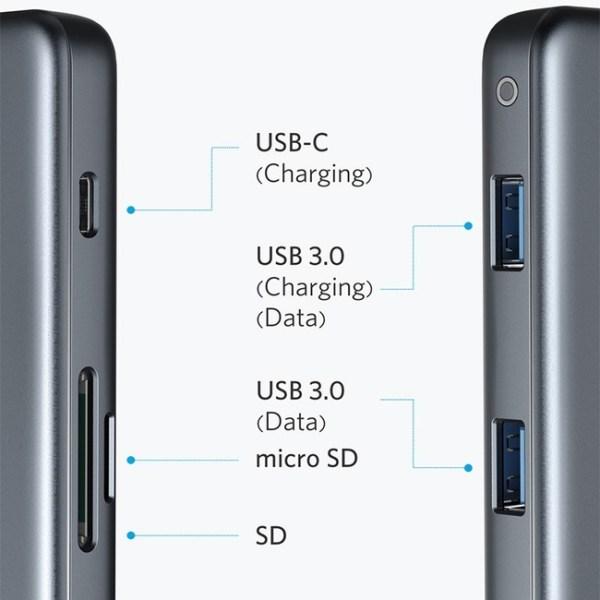 Anker Premium 5 in 1 Type C Hub Adapter 1