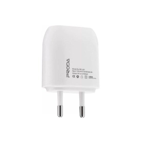Proda RP U21 Dual USB Port Charger 1