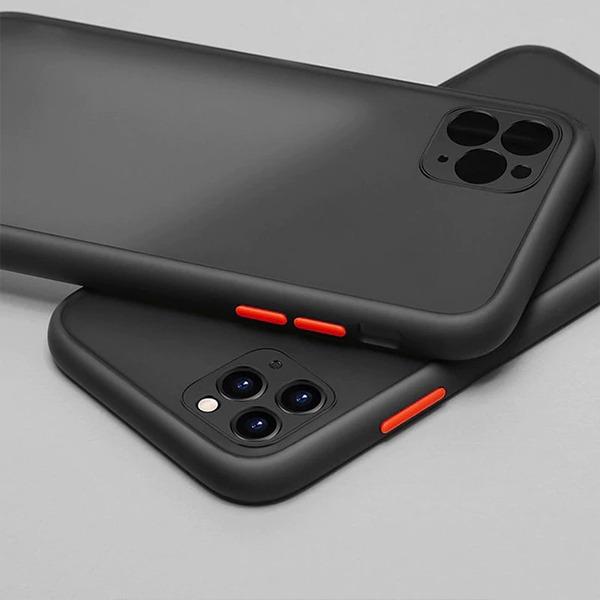 iPhone 12 Camera Lens Bumper Protection Hard Case 5