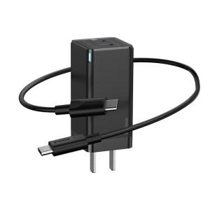 Baseus GaN 45W Dual Type C Mini Quick Charger US Plug