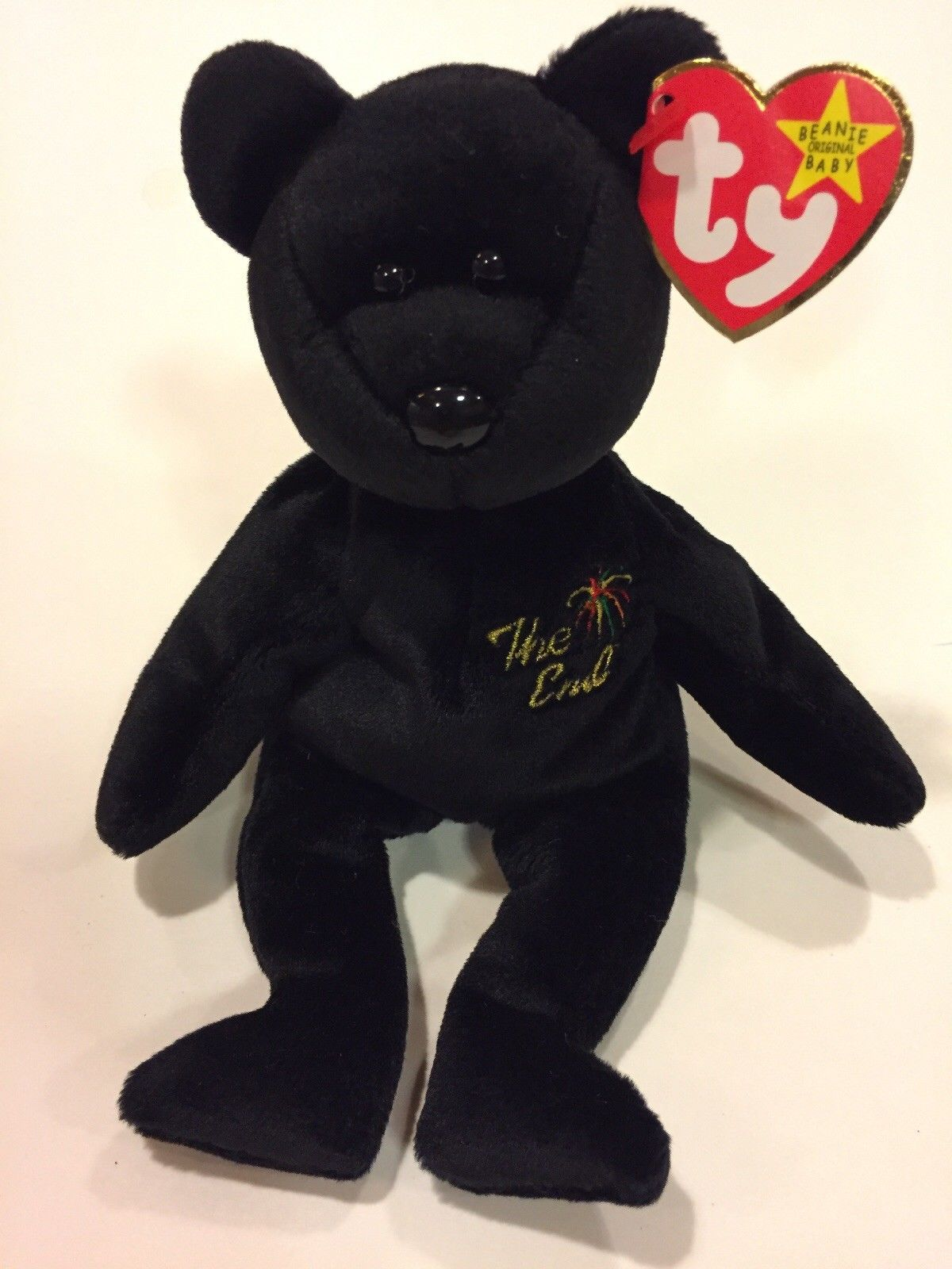 297087e6f17 Ty Beanie Baby Babies The End - MWMT (Bear 1999) MAYBE TAG ERROR ...