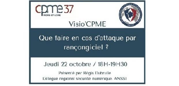 CPME 37 Indre et Loire - que faire en cas d'attaque par rançongiciel ?