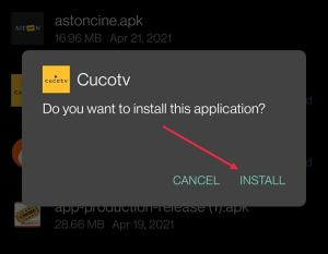 install cucotv apk on android