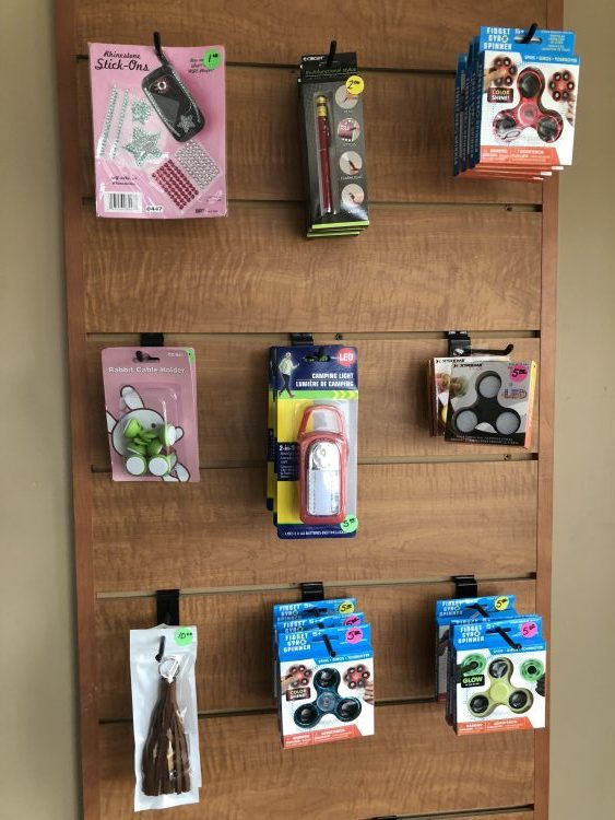 Accessories for cords, phones, kids