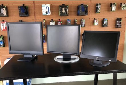 Monitors - We have several used monitors in stock.