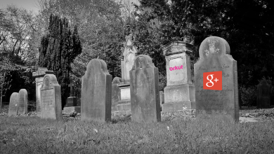 shutting down google+