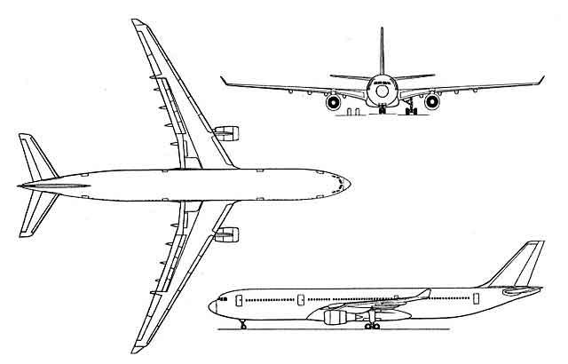 AirBus A330 Elévation