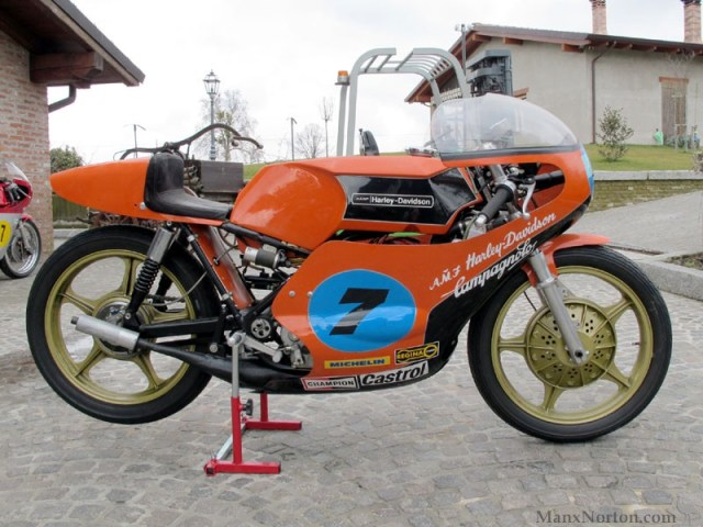 Harley Davidson: Aermacchi Harley Davidson 350 Tv