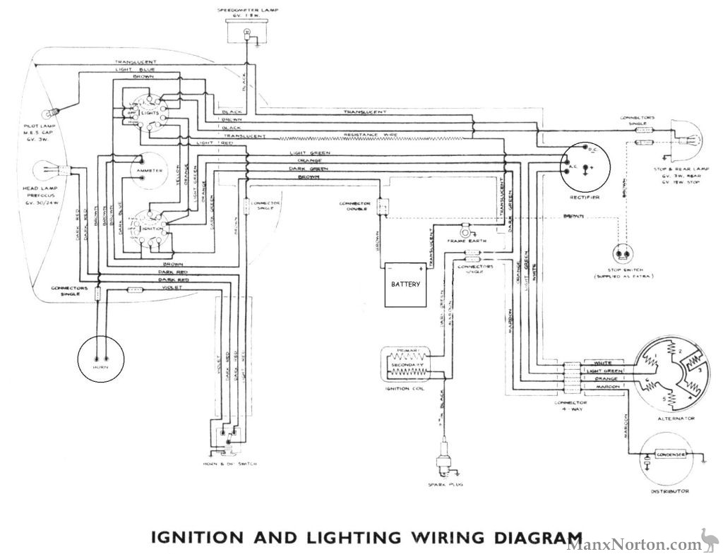 Tomos Wiring Diagram