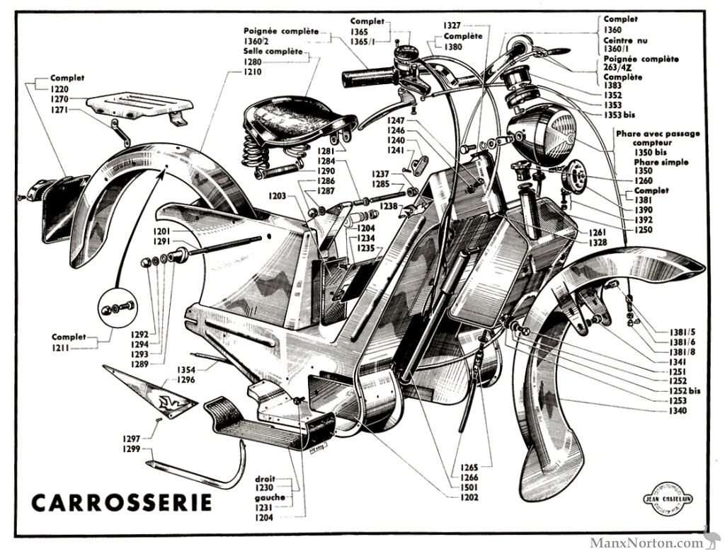 Paloma 70cc Scooter