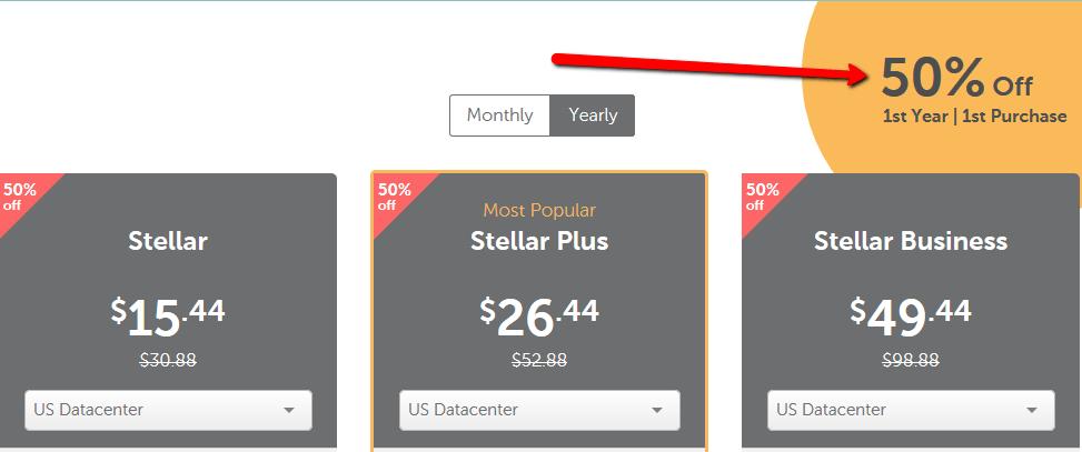 namecheap hosting 50% off