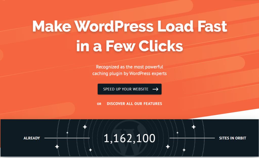 wp rocket - must-have WordPress plugin for blogs
