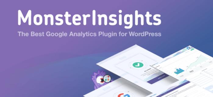 monsterinsights - google analytics plugin