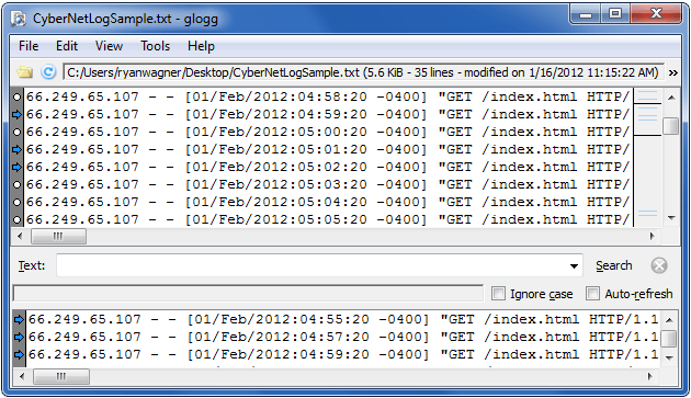 Free Log File Viewer For Windows Linux